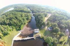 Dam from above